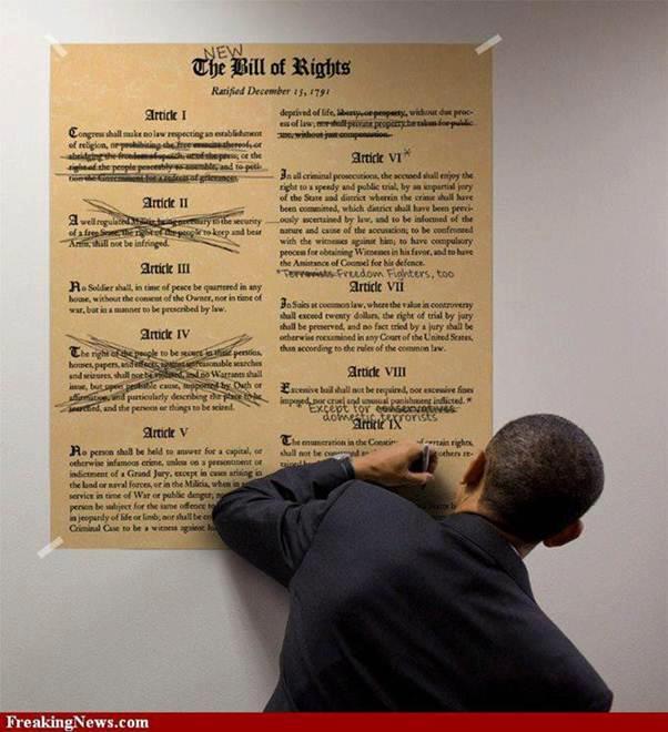 Obama and the Constituion