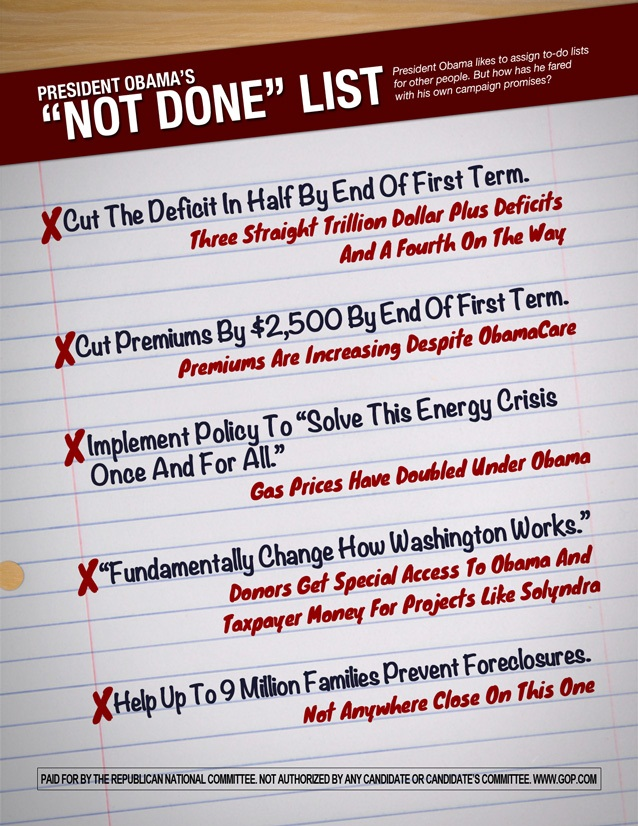 obama not done list