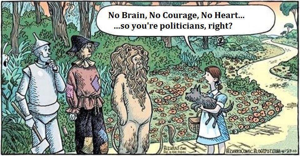 wiz of politicians
